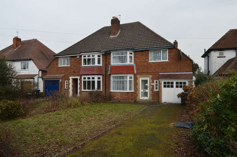 3 Bedrooms Semi Detached House for sale in Haunch Lane, Kings Heath, Birmingham, B13