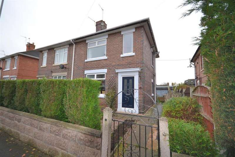 2 Bedrooms Semi Detached House for sale in Leveson Road, Hanford, Stoke-On-Trent
