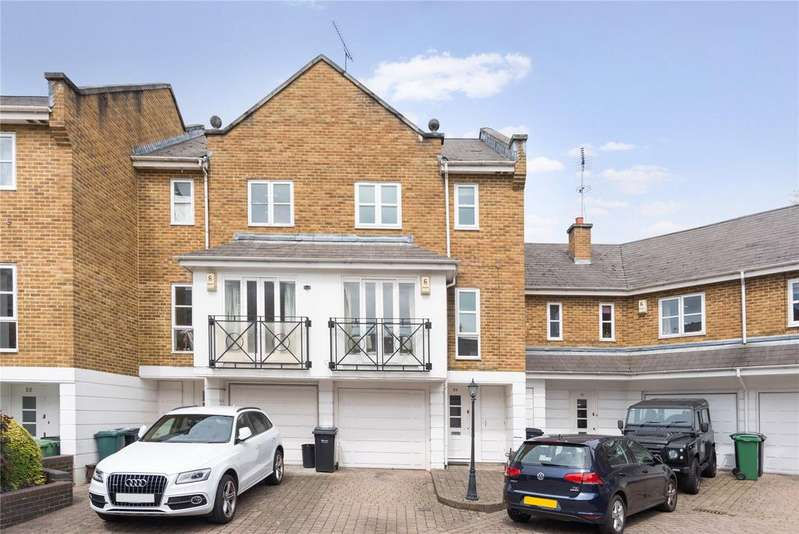 3 Bedrooms Terraced House for sale in Berridge Mews, West Hampstead, London
