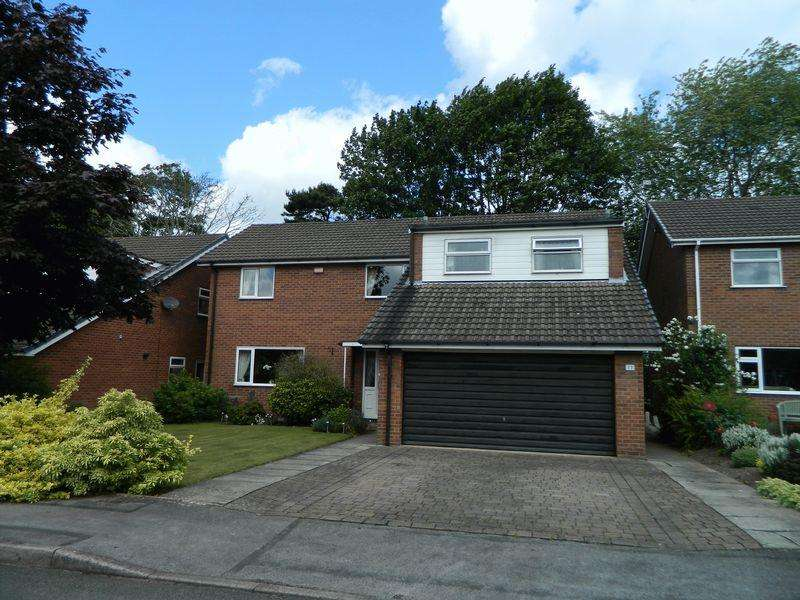 4 Bedrooms Detached House for sale in Fields Drive, Sandbach