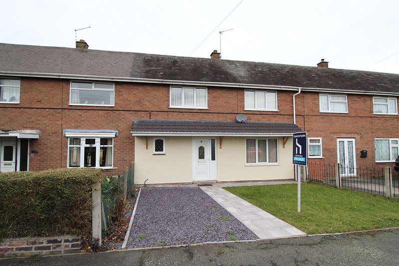 3 Bedrooms Terraced House for sale in Orchard Close, Penkridge, Staffordshire, ST19