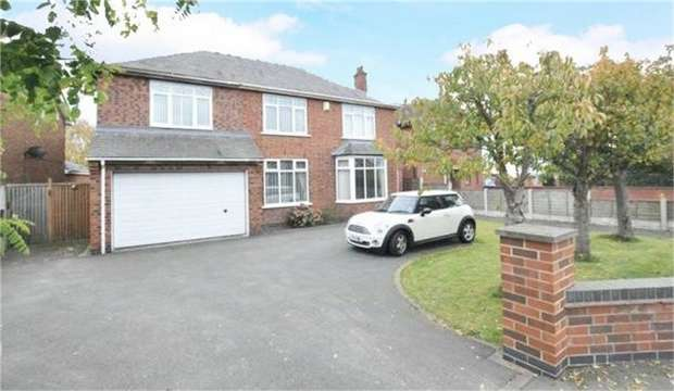 4 Bedrooms Detached House for sale in Church Road, Stretton, Burton-on-Trent, Staffordshire