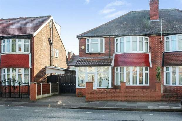 5 Bedrooms Semi Detached House for sale in Kings Road, Old Trafford, Manchester