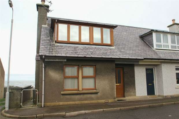 2 Bedrooms Semi Detached House for rent in Forteath Street, Burghead, Moray