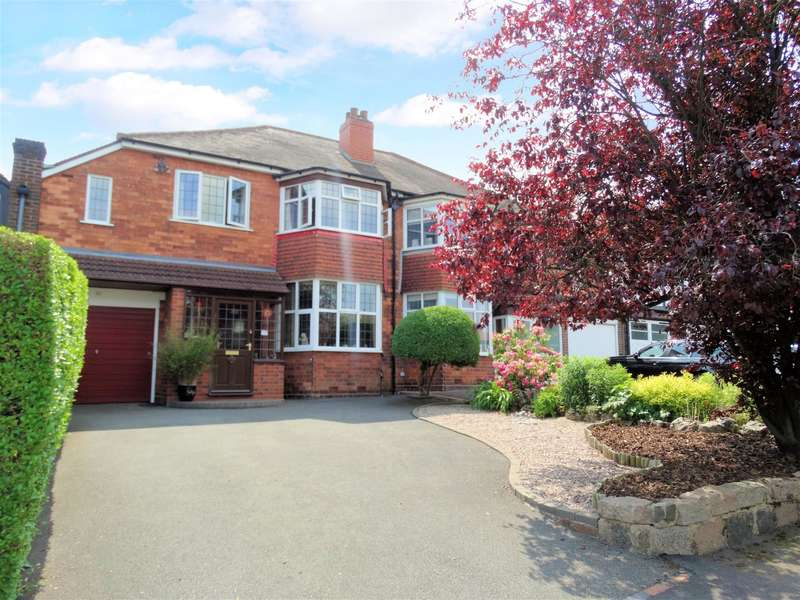 4 Bedrooms Semi Detached House for sale in Reservoir Road, Solihull, West Midlands