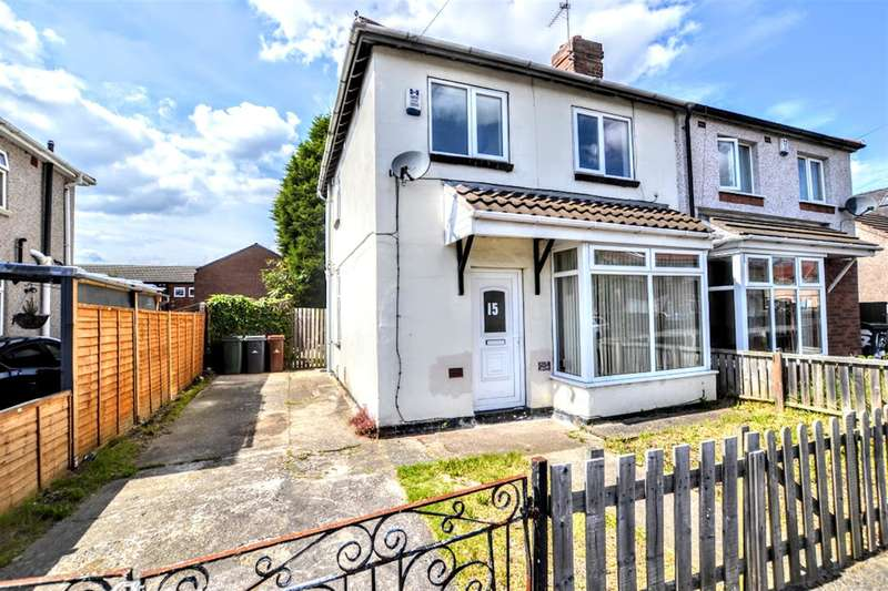 3 Bedrooms Semi Detached House for sale in Kingsway, Thurnscoe, Rotherham, S63 0TH