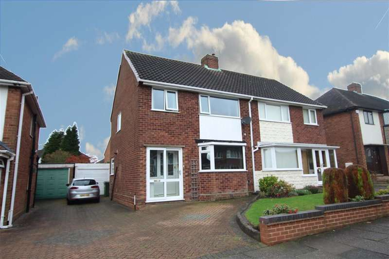 3 Bedrooms Semi Detached House for sale in Romney Way, Pheasey, B43 7UY