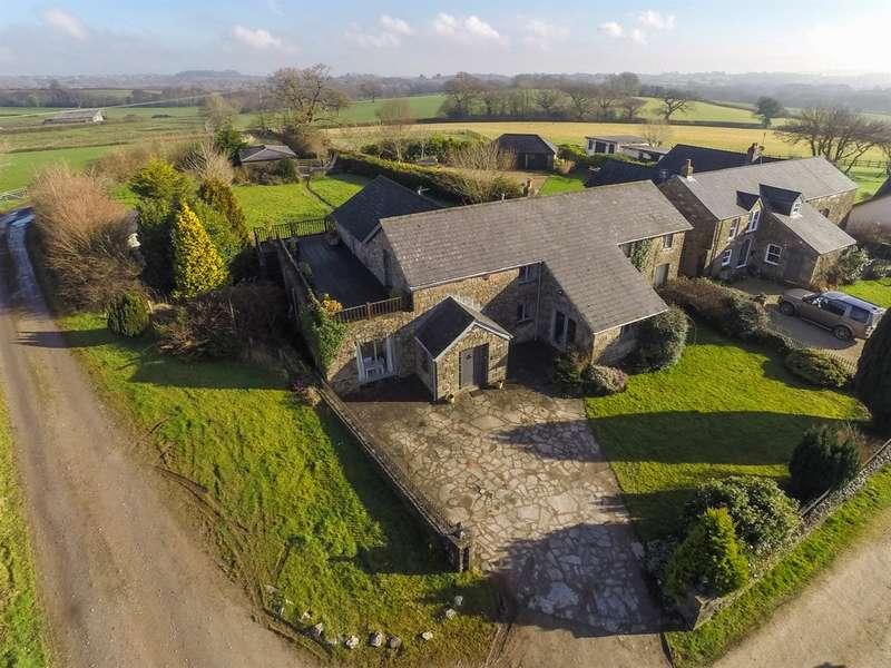 4 Bedrooms Barn Conversion Character Property for sale in Pendoylan Road, Gelliwen Farm, Groesfaen