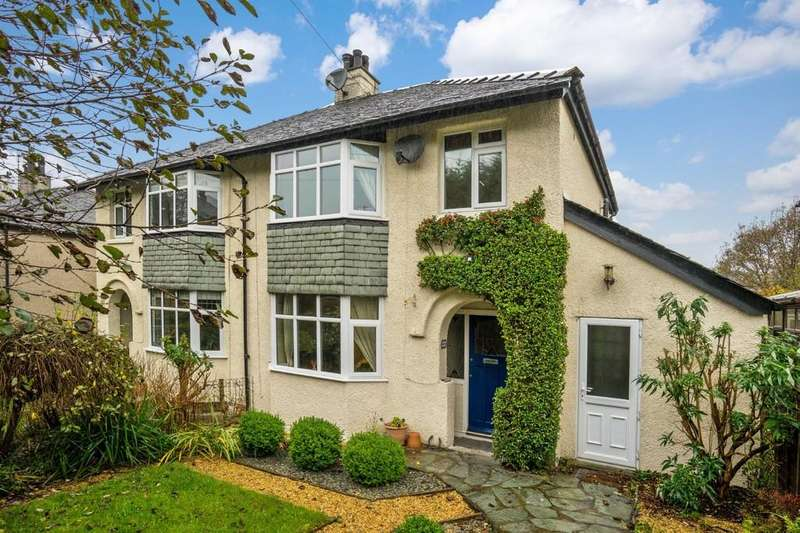 3 Bedrooms Semi Detached House for sale in 66 Oakthwaite Road, Windermere, Cumbria, LA23 2BD
