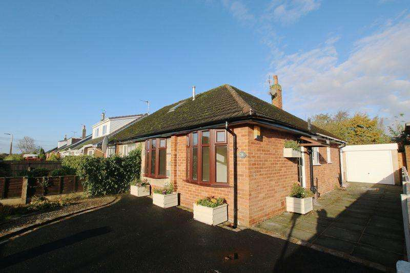 2 Bedrooms Semi Detached Bungalow for sale in Shaftesbury Avenue, New Longton