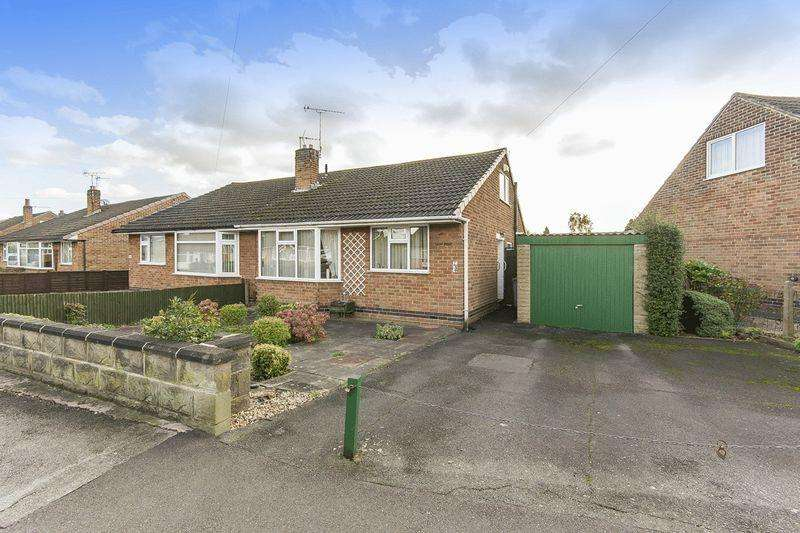 2 Bedrooms Semi Detached Bungalow for sale in REGINALD ROAD SOUTH, CHADDESDEN