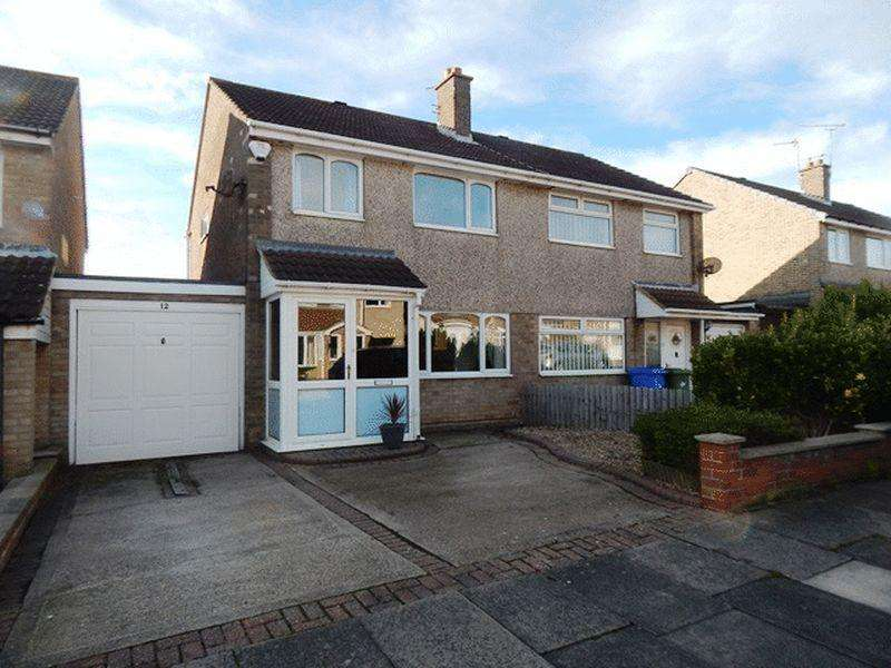 3 Bedrooms Semi Detached House for sale in Cormorant Close, South Beach, Blyth