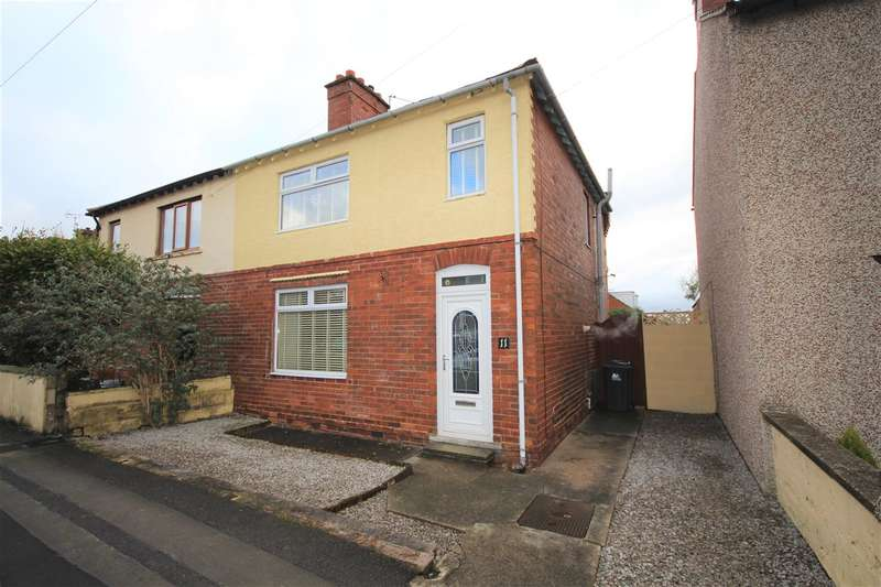 2 Bedrooms Semi Detached House for sale in Meadow Road, Ripley