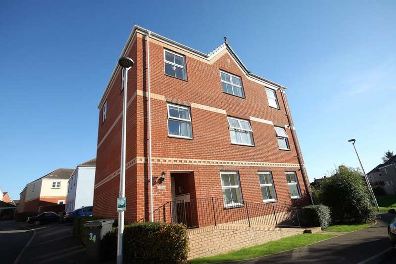 2 Bedrooms Flat for sale in Raleigh Drive, Cullompton EX15 1FZ