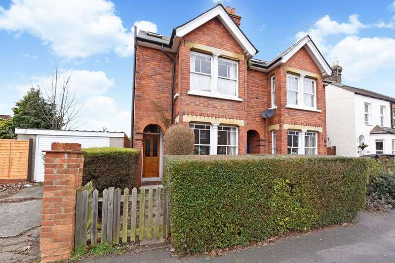 4 Bedrooms Semi Detached House for sale in Yetminster Road, Farnborough, GU14