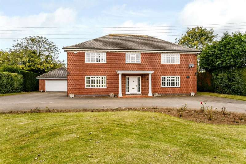 4 Bedrooms Detached House for sale in Honington Road, Barkston, Grantham, Lincolnshire, NG32