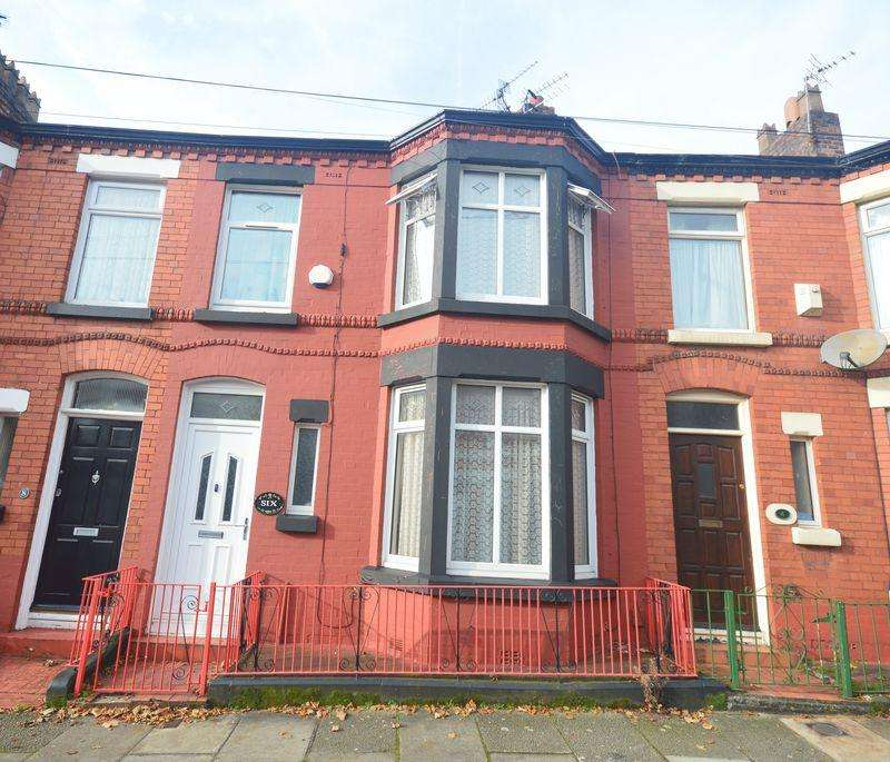 3 Bedrooms Terraced House for sale in Briardale Road, Mossley Hill
