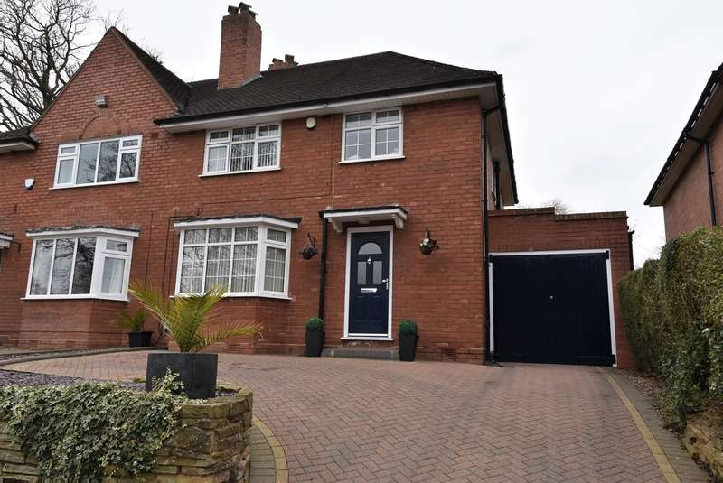 3 Bedrooms Semi Detached House for sale in Mulberry Road, Bournville, Birmingham, B30