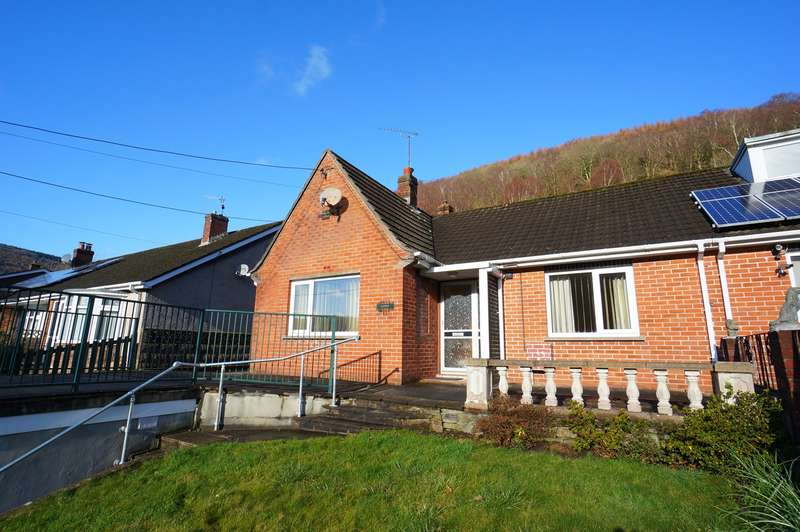 2 Bedrooms Bungalow for sale in Upper Tribute Avenue, Cwmcarn, Newport, NP11