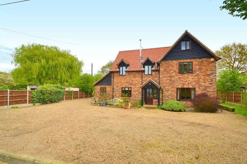 4 Bedrooms Detached House for sale in California Lane, Hintlesham, Ipswich, IP8 3QJ