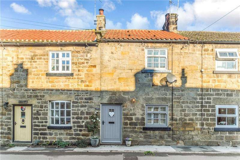 2 Bedrooms Terraced House for sale in Longswales Cottages, Kirkby Malzeard, Ripon, North Yorkshire