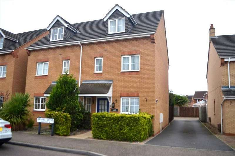 4 Bedrooms Town House for sale in Brunel Drive, Biggleswade, SG18