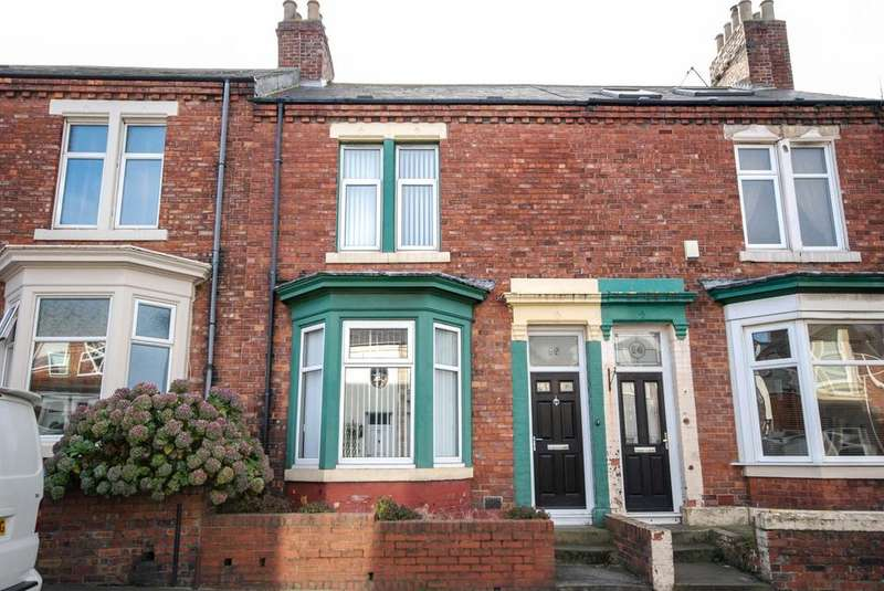 2 Bedrooms Terraced House for sale in Madeira Terrace, South Shields