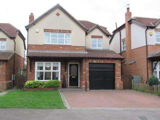 4 Bedrooms Detached House for sale in STAPYLTON DRIVE, HORDEN, PETERLEE AREA VILLAGES