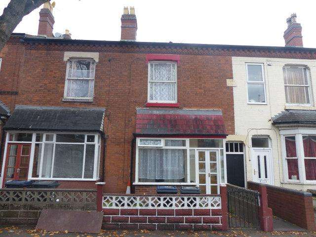 3 Bedrooms Terraced House for sale in Albert Road,Handsworth,Birmingham