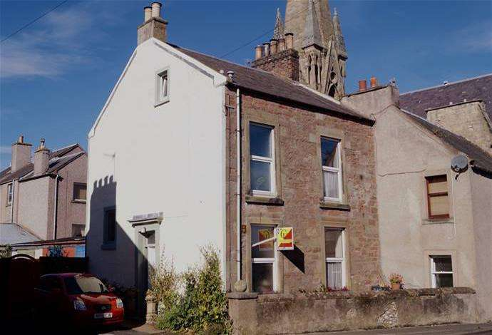 4 Bedrooms Terraced House for sale in 36 Bowmont Street, Kelso, TD5 7JH
