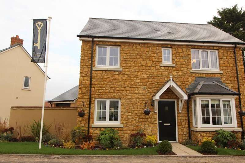 3 Bedrooms Detached House for sale in Exciting new development in Congresbury