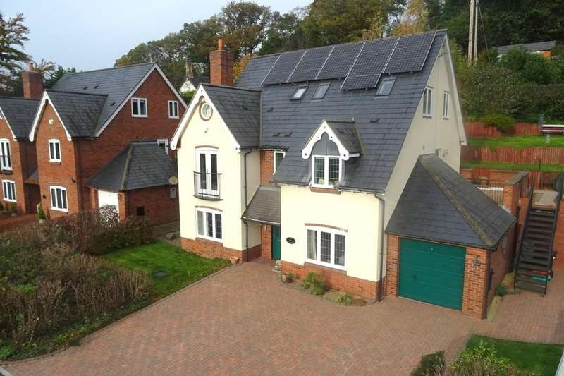 5 Bedrooms Detached House for sale in Breidden Place, Trewern, Welshpool