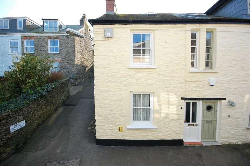 3 Bedrooms End Of Terrace House for sale in West Street, Polruan, Cornwall