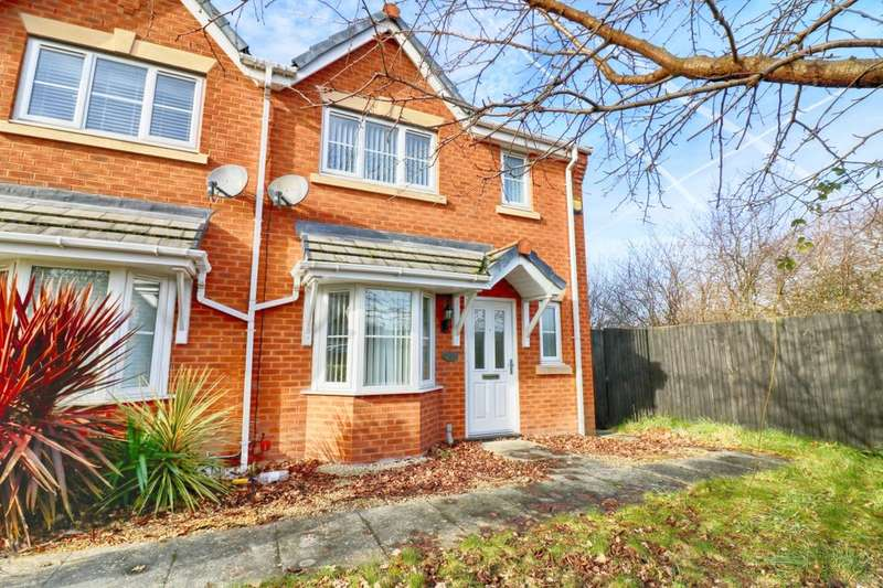 3 Bedrooms Semi Detached House for sale in Naylor Walk, Ellesmere Port, CH66