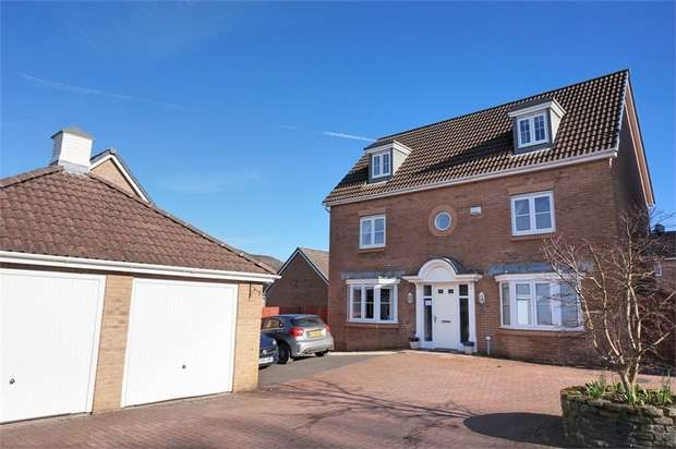 5 Bedrooms Detached House for sale in Cae Morfa, Skewen, West Glamorgan