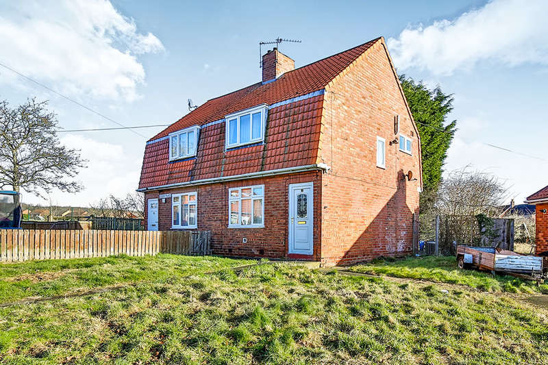 2 Bedrooms Semi Detached House for sale in Essex Place, Willington, Crook, DL15