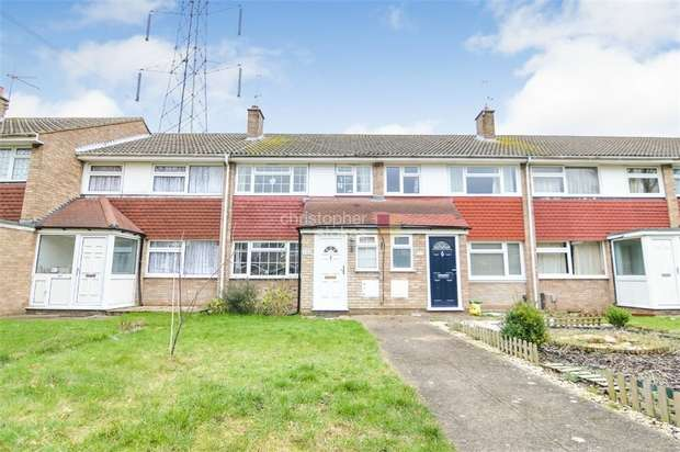 3 Bedrooms Terraced House for sale in Perrysfield Road, Cheshunt, WALTHAM CROSS, Hertfordshire