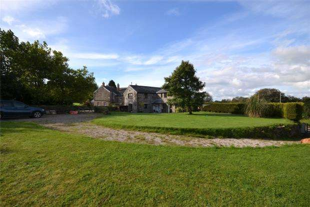 3 Bedrooms Detached House for sale in Duloe, Liskeard, Cornwall