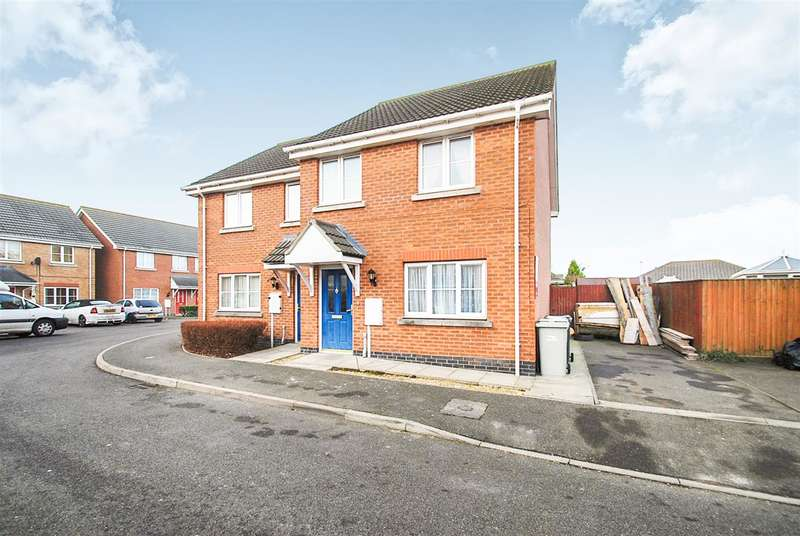 3 Bedrooms Semi Detached House for sale in Simpson Close, Chapel St Leonards