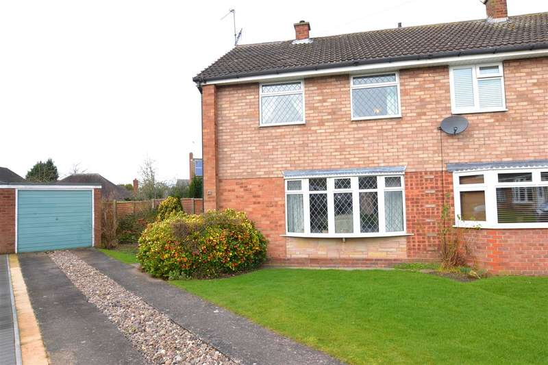 3 Bedrooms Semi Detached House for sale in Orchard Crescent, Penkridge