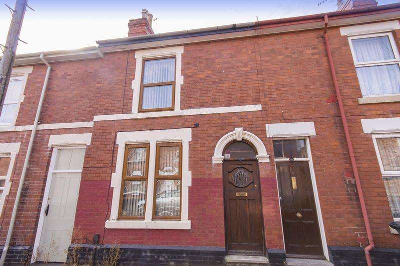 2 Bedrooms Terraced House for sale in Wolfa Street, Derby