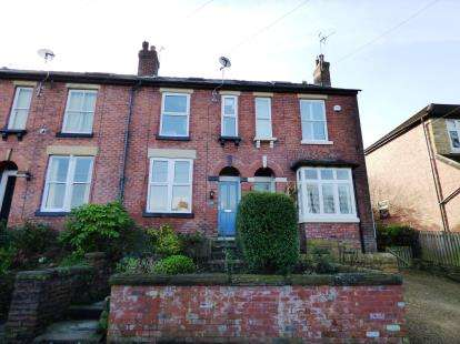 3 Bedrooms Terraced House for sale in Hollinwood Road, Disley, Stockport, Cheshire