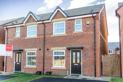3 Bedrooms Semi Detached House for sale in Baines Close, Leigh, Greater Manchester