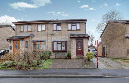 3 Bedrooms Semi Detached House for sale in Holly Bank, Hollingworth, Hyde, Greater Manchester