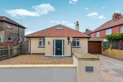 3 Bedrooms Bungalow for sale in Castle Road, Whitby, North Yorkshire, .