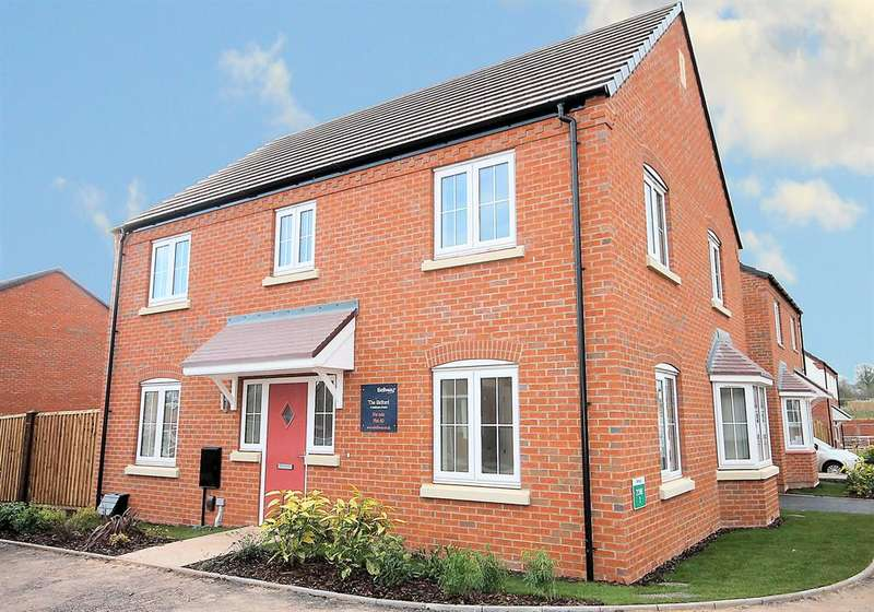 4 Bedrooms Detached House for sale in Barley Fields, Ashby Road, Tamworth, B79 8TN
