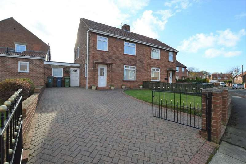 3 Bedrooms Semi Detached House for sale in Derwent View, Winlaton