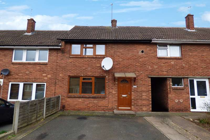 2 Bedrooms Terraced House for sale in Abbotsford Road, Attleborough, Nuneaton, CV11