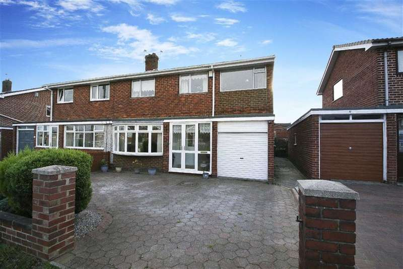 4 Bedrooms Semi Detached House for sale in Elsdon Avenue, Seaton Delaval, Northumberland