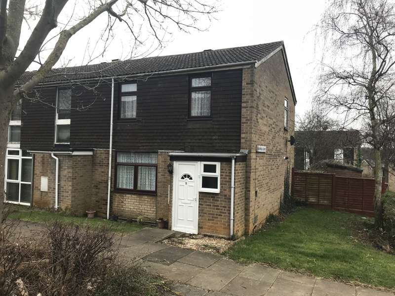 3 Bedrooms End Of Terrace House for sale in Bakewell Close, .N/A., NN4 9YY